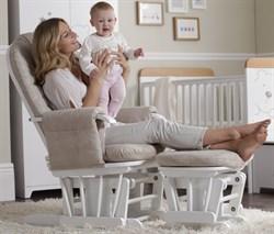 """Кресло-качалка """"Tutti Bambini GC35"""" с пуфом - фото 2760"""