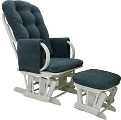 """Кресло-качалка """"Dondolo-1"""" с пуфом - фото 4905"""