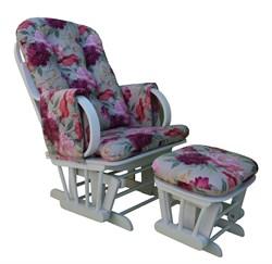 """Кресло-качалка """"Dondolo-1"""" с пуфом - фото 4906"""