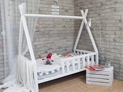"Кроватка ""Вигвам"" - с бортиками - фото 5216"