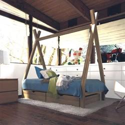 """Кроватка """"Вигвам"""" - с ящиками - фото 5220"""