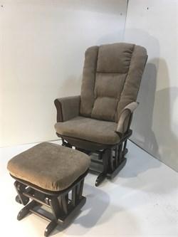 Кресло-качалка глайдер, с пуфом 1804/1805 - фото 5260