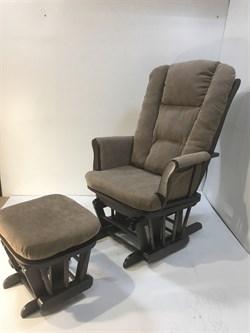 Кресло-качалка глайдер, с пуфом 1804/1805 - фото 5261