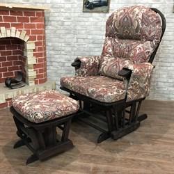 Кресло-качалка «Arsiel» с пуфом - фото 5624