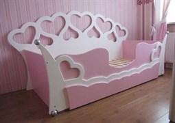 """Кровать """"Сердечки"""""""